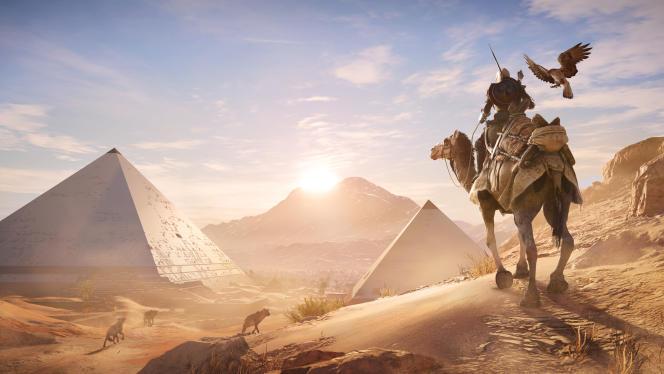 Avec«Assassin's Creed Origins», Ubisoft joue la carte du tourisme historique.
