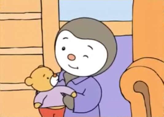 T'choupi, le héros mi-garçonnet mi-pingouin de Thierry Courtin, a déjà vécu plus de 100aventures en livre.