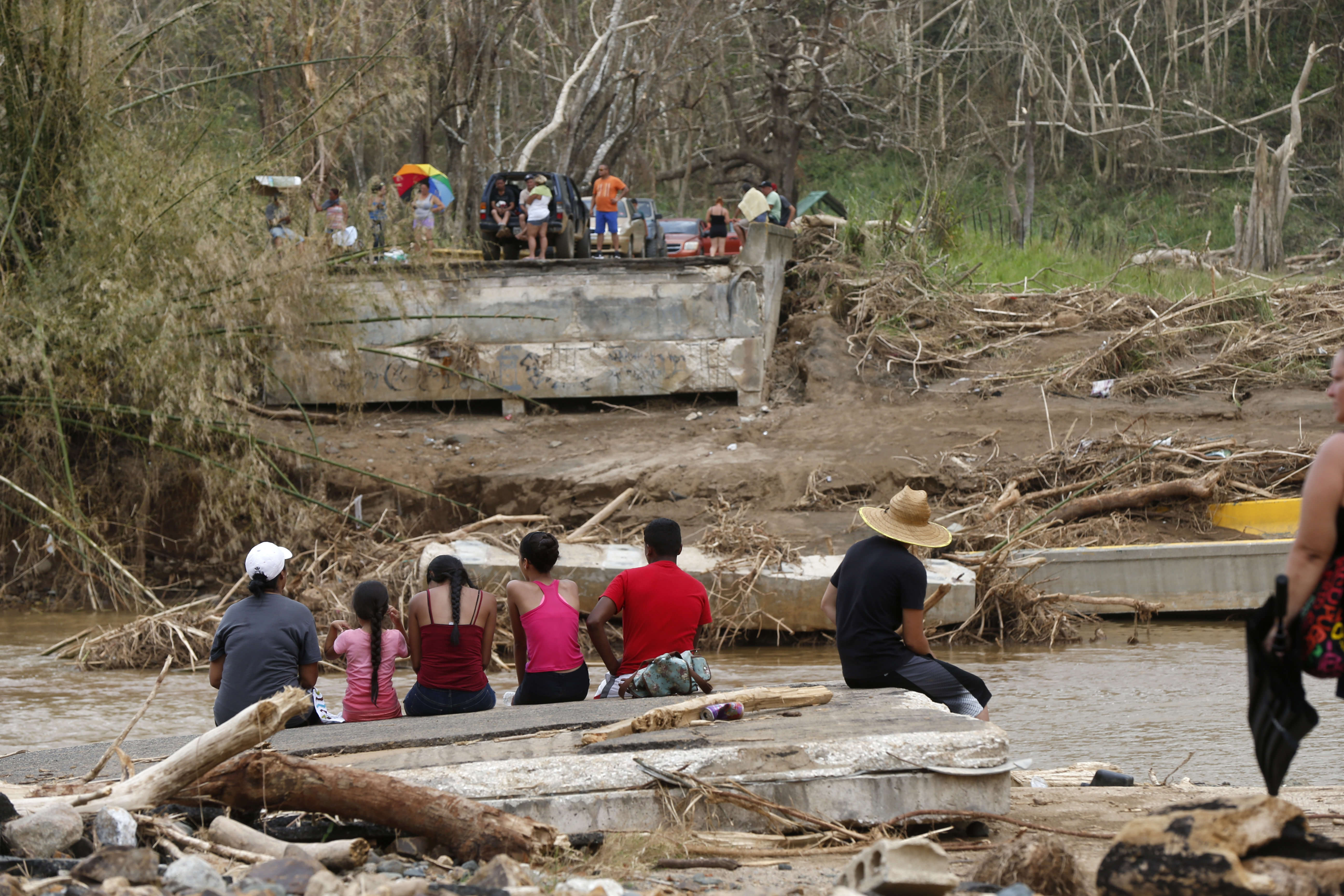 «Les infrastructures sont fragiles, il n'y avait pas de règles d'urbanisme, donc il y a beaucoup de dégâts», a expliqué la ministre adjointe à la sécurité intérieure des Etats-Unis, Elaine Duke(Porto Rico est un territoire non incorporé des Etats-Unis).