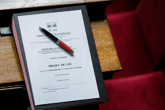Séance de questions au gouvernement, à l'Assemblée nationale.