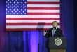 Le président américain Donald Trump dévoile les grandes lignes de son projet de réforme fiscale, à Indianapolis (Indiana), le 27 septembre.