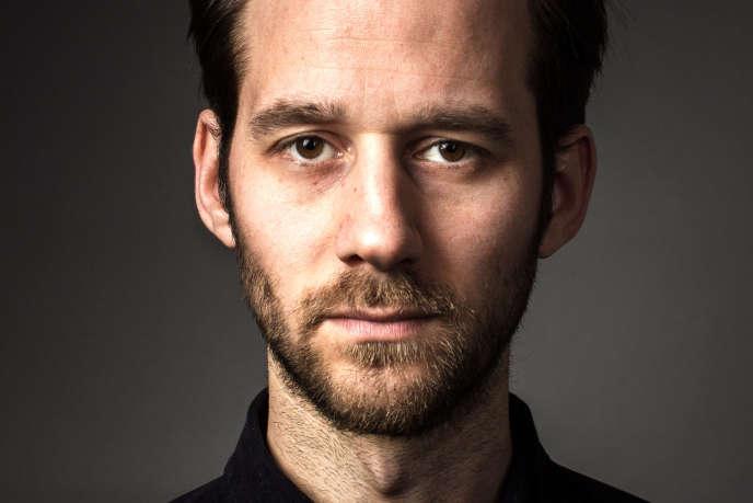Le comédien Benjamin Lavernhe.