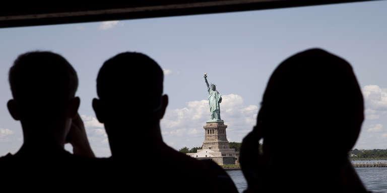 La statu de la Liberté à New YorK.