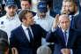 Emmanuel Macron et Gérard Collomb, le 28 septembre à Lyon.
