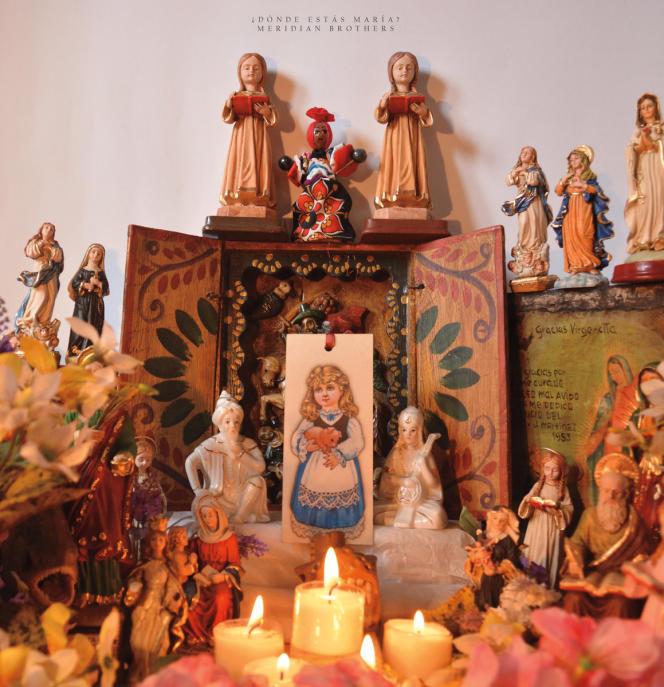 Pochette de l'album«¿Donde Estas Maria? », de Meridian Brothers.