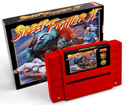 La réédition de « Street Fighter II » sur Super Nintendo.