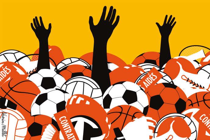 Le nombre de contrats aidés dans le sport va passer à 200 000 en 2018. Contre 459 000 en 2018.