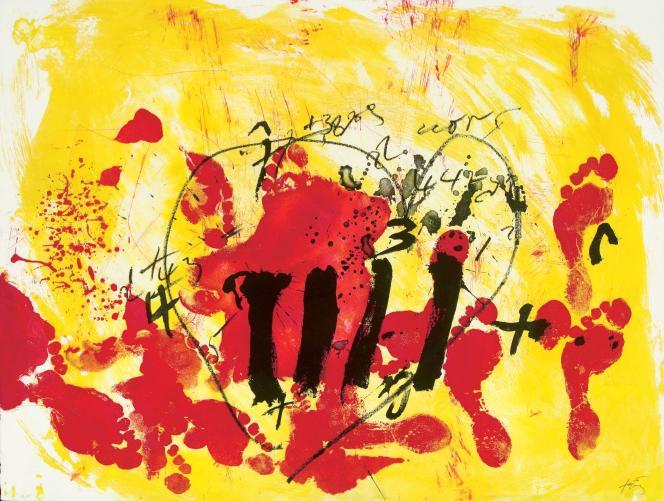 Antoni Tàpies.«Suite Catalana» (1972)