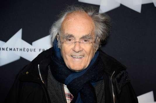 Le compositeur Michel Legrand à la Cinémathèque française à Paris, en mai 2015.