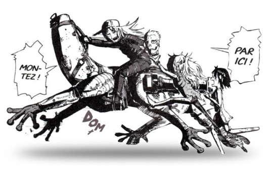 « Cavale vers les étoiles» dépeint une course poursuite survoltée.
