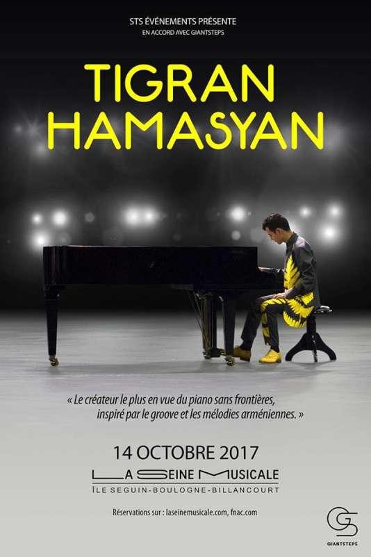 Le pianiste Tigran Hamasyan à La Seine musicale.