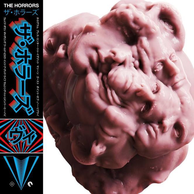 Pochette de l'album« V», de The Horrors.