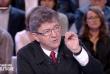 Capture d'écran de l'émission du 28 septembre 2017, Jean-Luc Mélenchon.