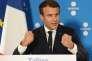 Emmanuel Macron du sommet numérique à Tallinn, en Estonie, le 29 septembre