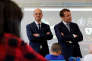 French President Emmanuel Macron and Ministry of National Education Jean-Michel Blanquer visit a school in Forbach, Eastern France, September 4, 2017 on the first school day of the year. REUTERS/Philippe Wojazer/POOL
