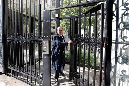 L'ancien premier secrétaire du Parti socialiste, Jean-Christophe Cambadélis, au siège de Solférino (Paris), le 20 septembre.