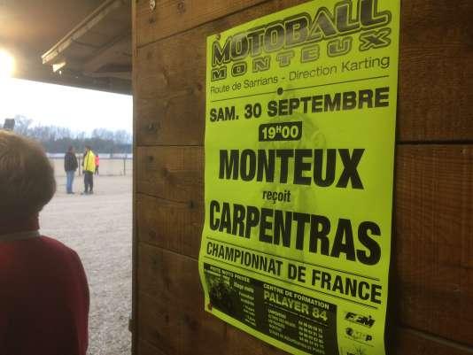 A Monteux, le samedi 30 septembre 2017.