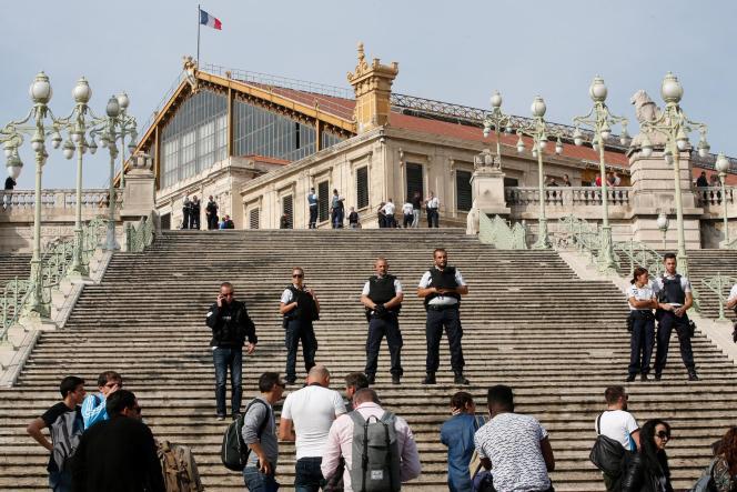A la gare Saint-Charles à Marseille, le 1er octobre.