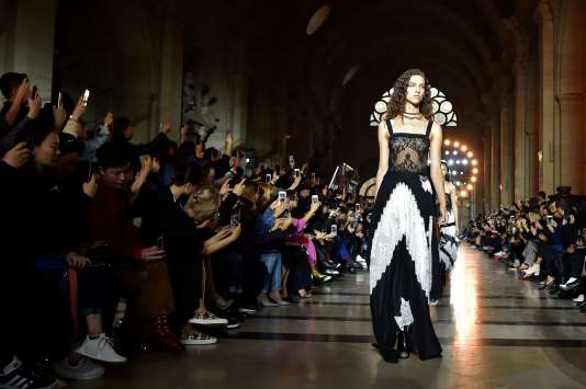 Givenchy, au Palais de justice de Paris, le 1er october.