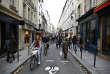 Une rue de Paris lors de la dernière « journée sans voitures». (AP Photo/Thiabult Camus)