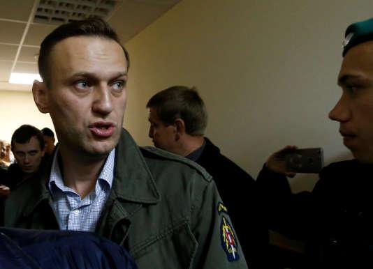 L'avocat a été arrêté vendredi alors qu'il quittait son domicile moscovite pour se rendre à un meeting électoral en province.