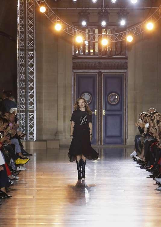 Clare Waight Keller, la nouvelle directrice artistique de Givenchy.