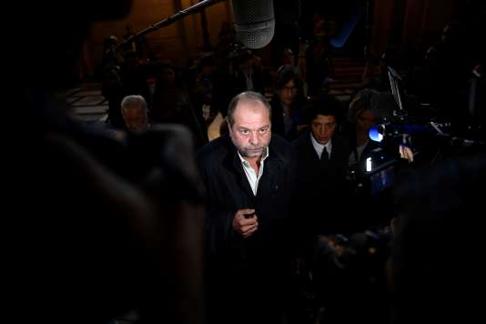 L'avocat d'Abdelkader Merah, Eric Dupond-Moretti, le 2 octobre au Palais de justice de Paris.