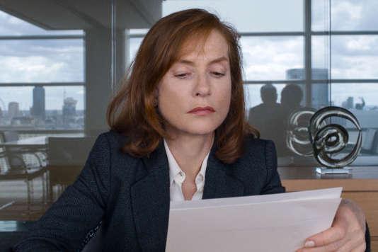 Isabelle Huppert dans« Happy End», de Michael Haneke.