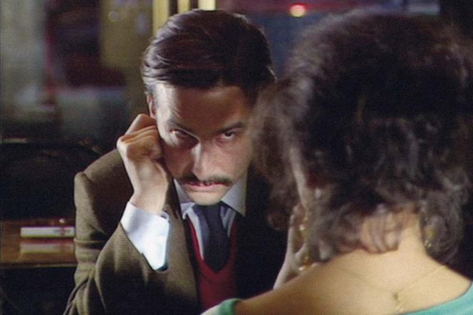 Jean-Pierre Léaud dans le film français de Jean-Luc Godard, «Grandeur et décadence d'un petit commerce de cinéma» (1986).