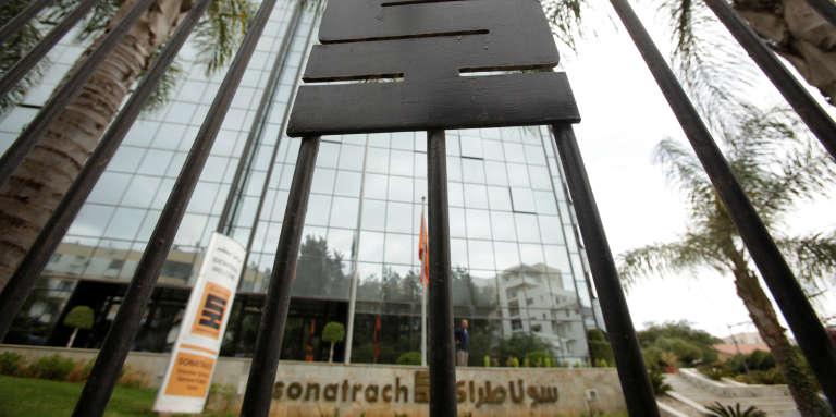 Le siège social de l'entreprise publique algérienneSonatrach, à Alger, en juin 2016.