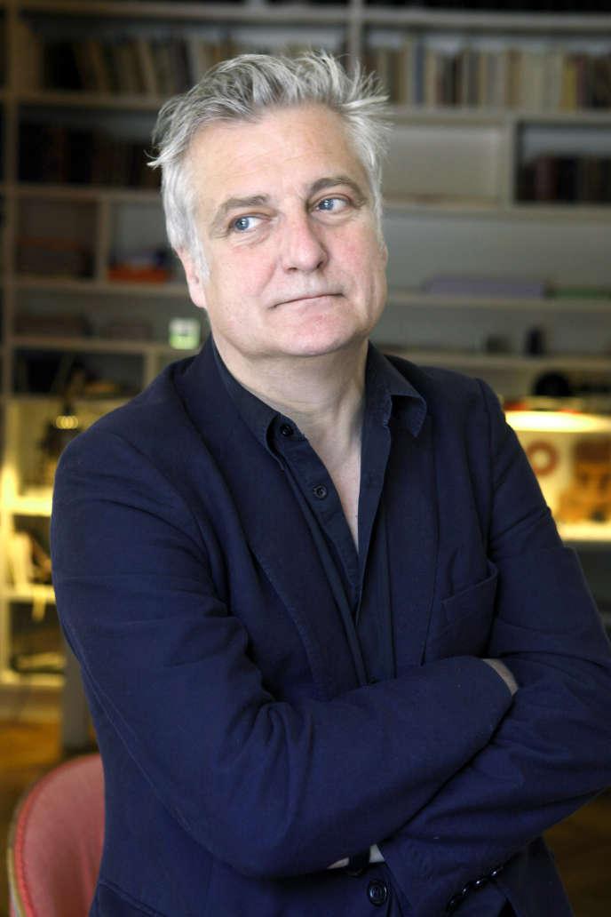 L'écrivain Olivier Cadiot, en 2010.