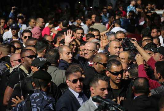Le premier ministre palestinien Rami Hamdallah est arrivé lundi 2 octobre sur la bande de Gaza.