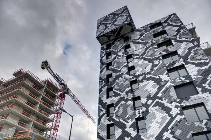 Le projet Presqu'île Giant dans l'agglomération de Grenoble, en octobre 2016.