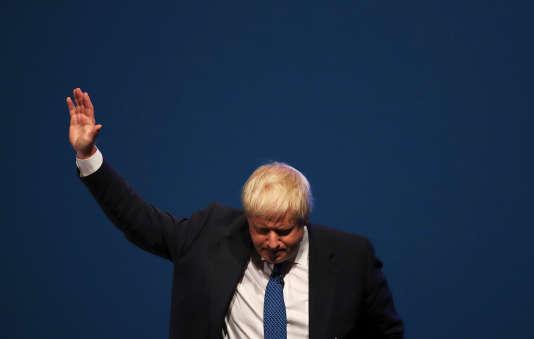 Boris Johnson, le 3 octobre 2017.