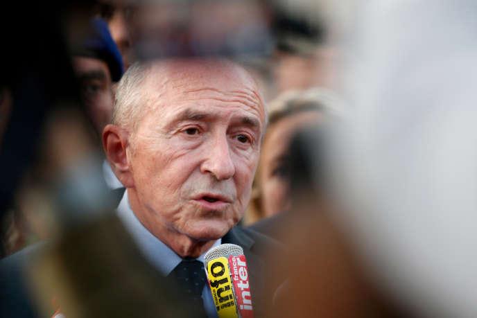 Gérard Collomb le 1er octobre 2017.