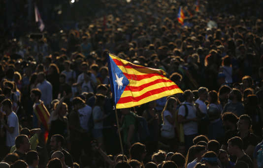 Le 3 octobre, à Barcelone.