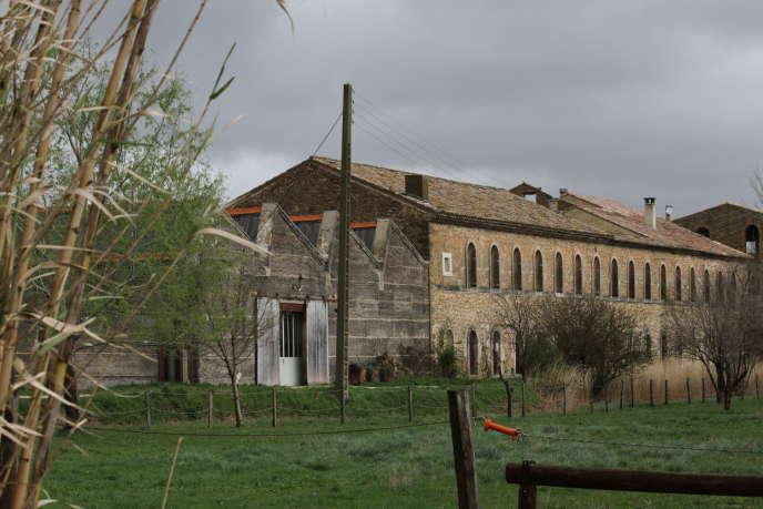 La friche industrielle de La Courroieprès d'Entraigues-sur-la-Sorgue, au nord d'Avignon.