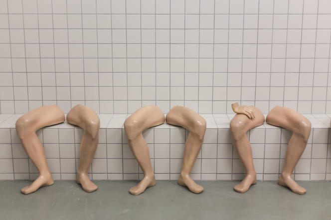 «Sans titre », de Candeger Fürtun (1994-1996, céramique).