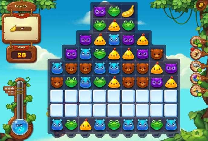 «Anipop», un jeu chinois d'association à la«Candy Crush», est le deuxième jeu le plus joué au monde sur mobile.