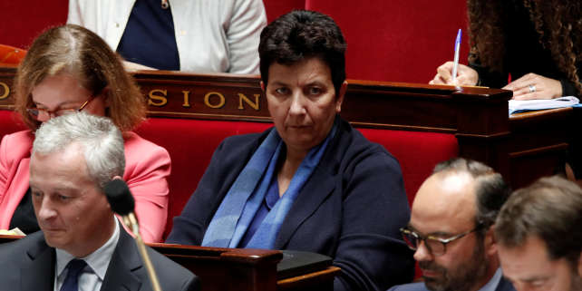 Frederique Vidal, à l'Assemblée nationale à Paris, en octobre 2017.
