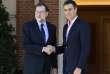 Mariano Rajoy et Pedro Sanchez, le 2 octobre à Madrid.
