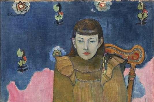 «Portrait d'une jeune fille,Vaïte (Jeanne) Goupil» (1896), de Paul Gauguin (détail).