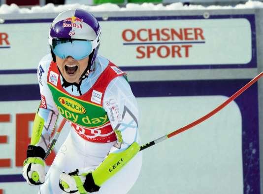 La skieuse Lindsay Vonn en 2015.