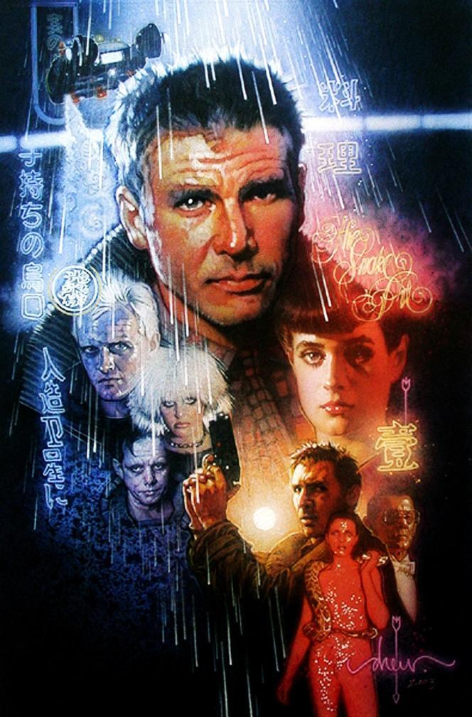 Affiche de «Blade Runner» (1982), de Ridley Scott.