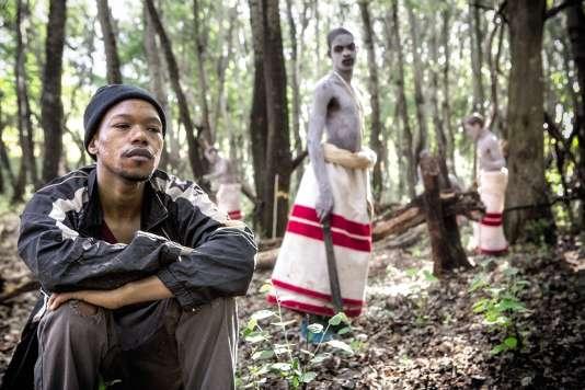L'acteurNakhane Touré, 29 ans, a reçu des menaces de mort après son rôle dans «Inxeba» («Les Initiés» ).