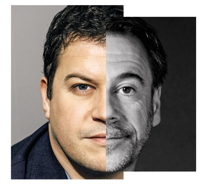 Guillaume Muso et Michel Bussi.