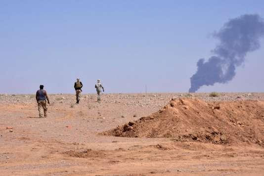 A Al-Choula, au sud-ouest de Deir ez-Zor, le 8 septembre.
