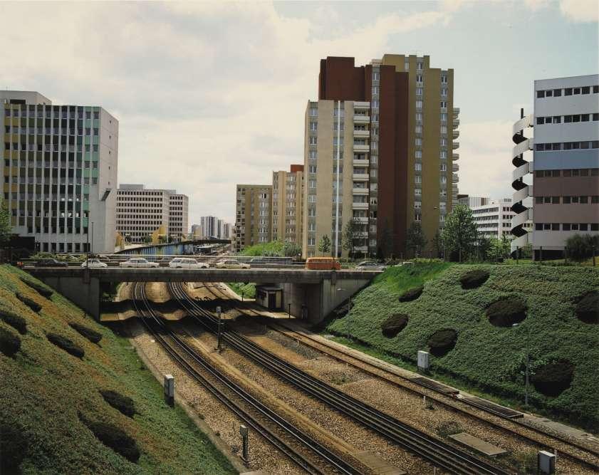Série « Banlieue d'aujourd'hui, dans les banlieues et les villes nouvelles de la région parisienne ». Mission photographique de la Datar.
