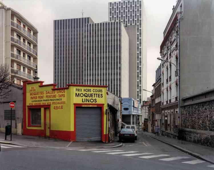Série « Itinéraire n° 9, ville de Montreuil, 1997 ». Observatoire photographique national du paysage. Mission de la photographie.