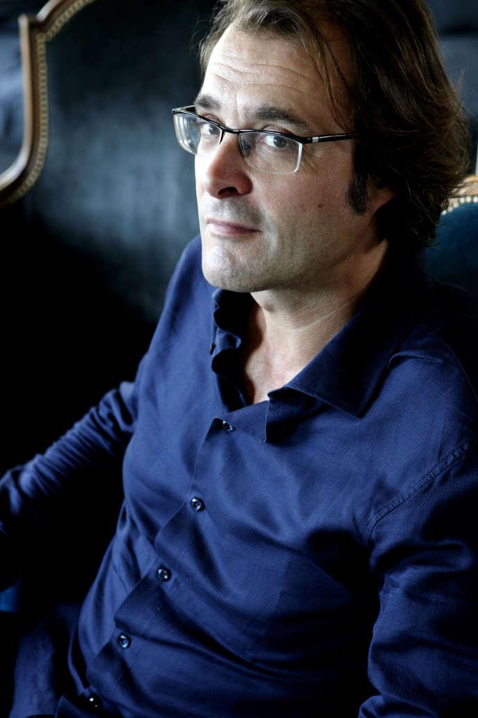 L'écrivain Frédéric Boyer, en 2009.